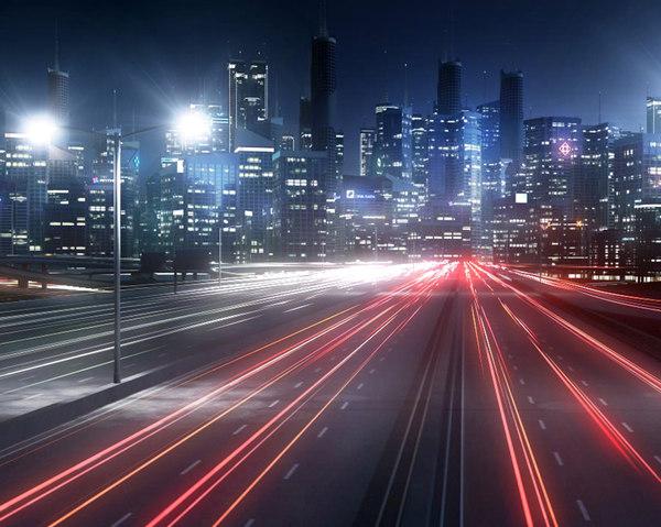 freeway city environment road model