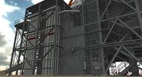 saturn apollo launch 3D model