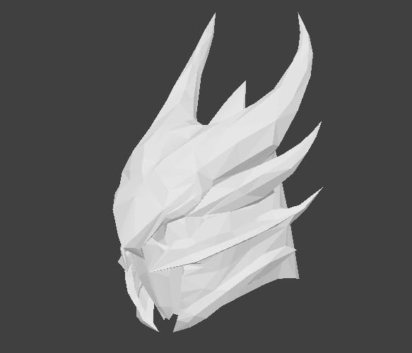3D helmet elders scrolls model