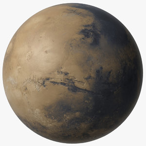 3D mars planet v2