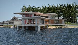 3D villa 03 lakeside v3