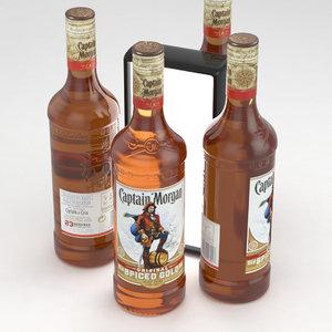 alcohol bottle model