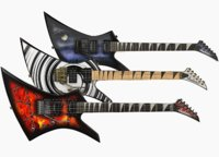 Electric guitar Jackson Kelly 3 skins