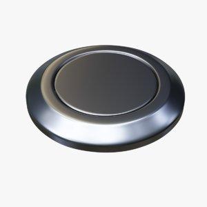 3D reset button nickel