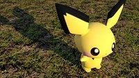 3D pokemon poke