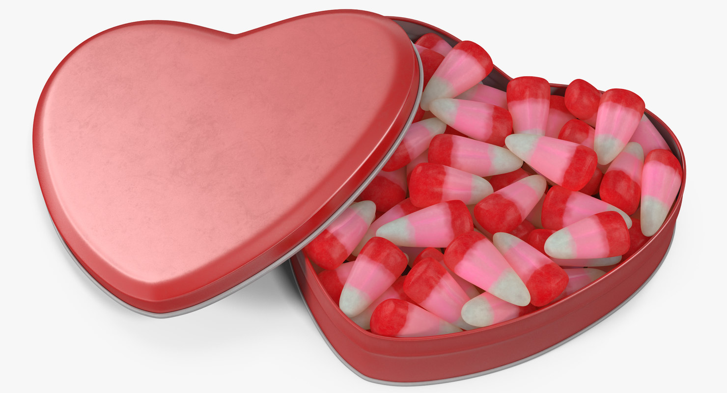 valentine corn 5 3D model
