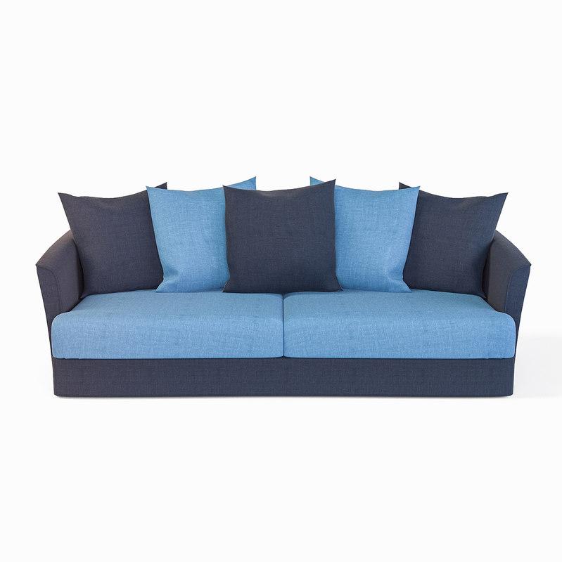 3D sofa california model