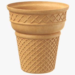 ice cream biscuit model