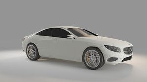 mercedes s class coupe 3D model
