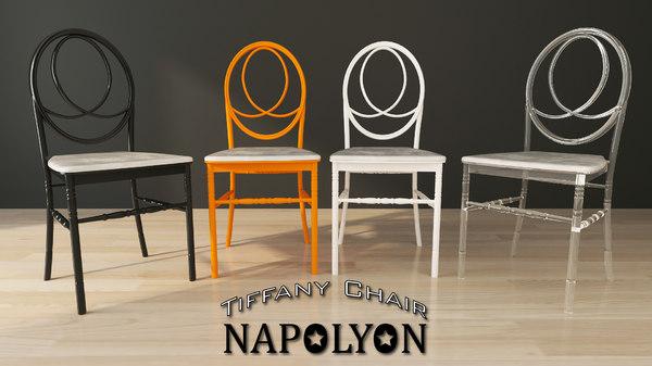 tiffany napolyon chair 3D model