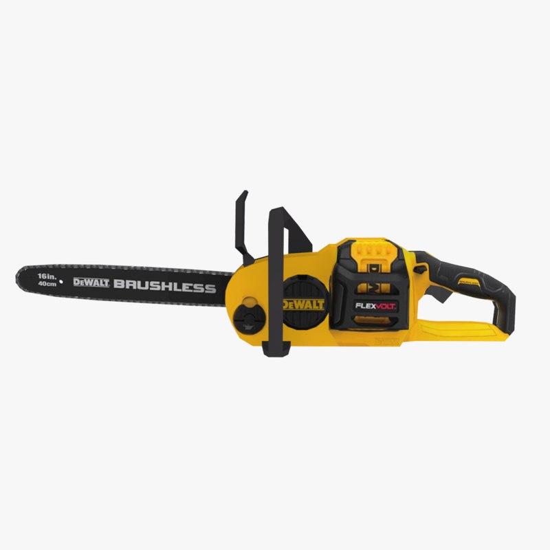 brushless chainsaw kit model
