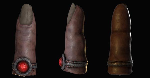 3D evidence finger