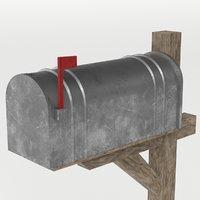 3D letter box model