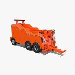 tow truck body model