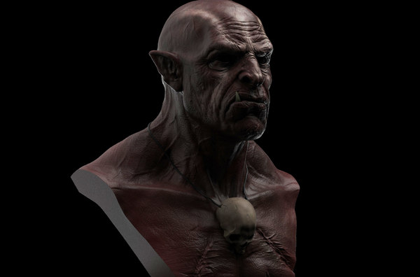 3D model uruk-hai orc print