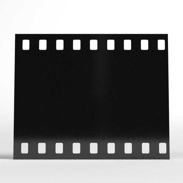 3D photo camera film module model