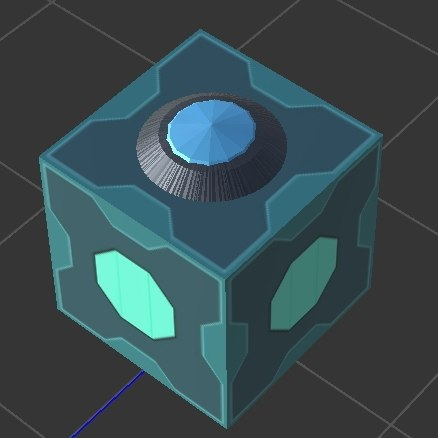 meeseeks box rick morty 3D model