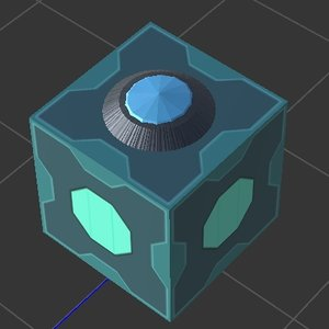 meeseeks box rick morty 3D model