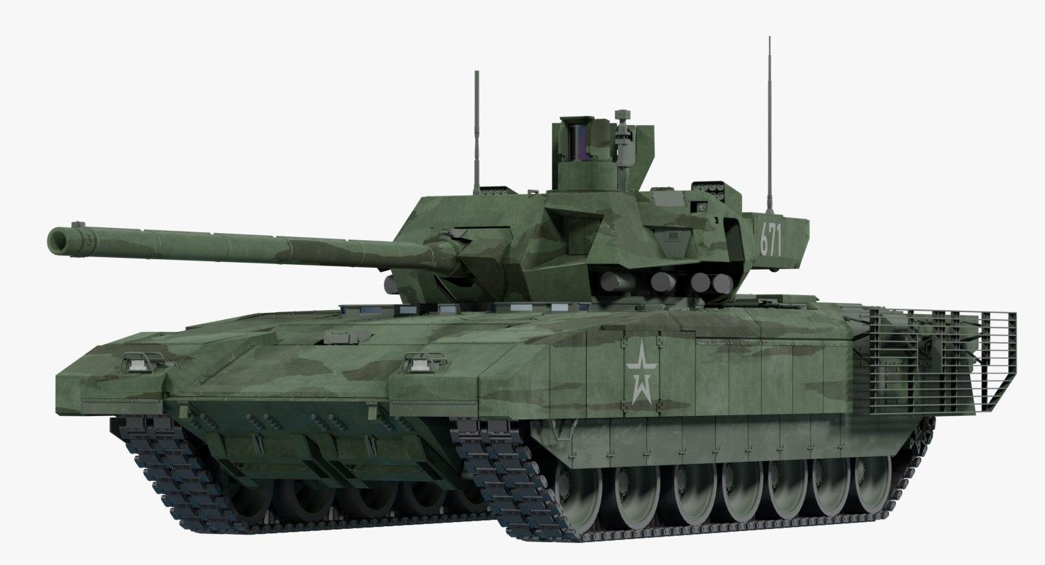 3D model armata t-14