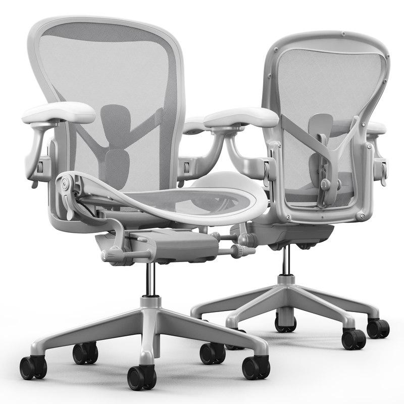 Chair Herman Miller Aeron Model