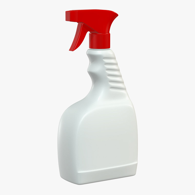 3D cleaning spray