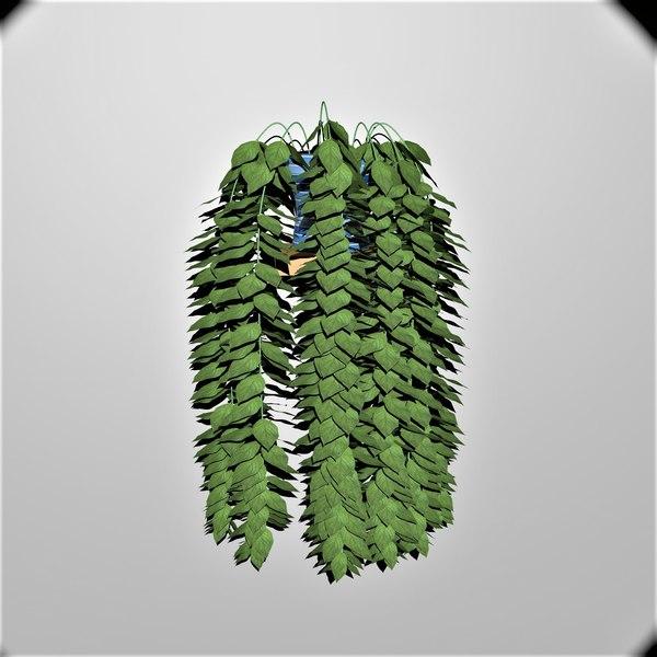 3D indoor plant