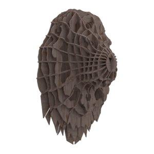 lion s head ribs 3D model
