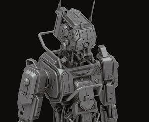 3D model cinematics