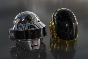 daft punk helmets 3D model