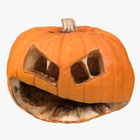 halloween pumpkin 3D model