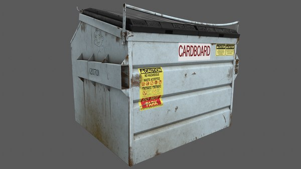 dumpster container model