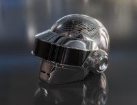 Daft Punk Thomas Bangalter Helmet