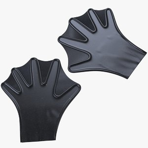 3D webbed glove