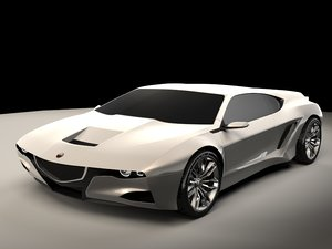 generic sports car 01 model
