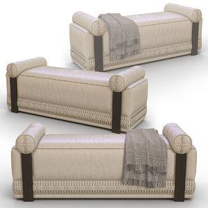 3D concertina stool bench