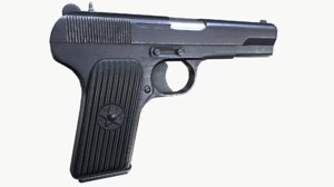 pistol tokarev 3D