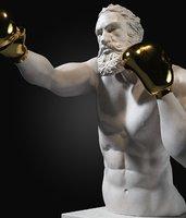 sculpture boxer 3D model