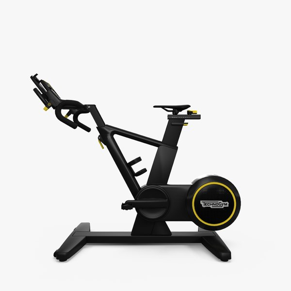gym equipment skillbike 3D