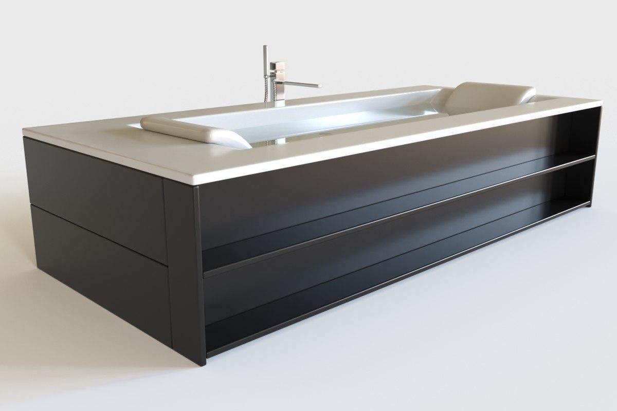 bath interior 3D model
