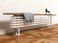 3D zehnder bank-radiator radiator