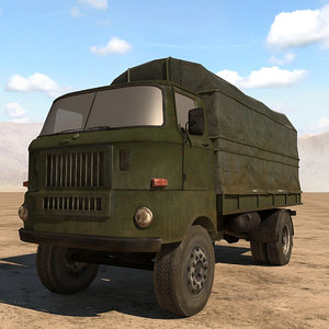 ifa truck 3D model