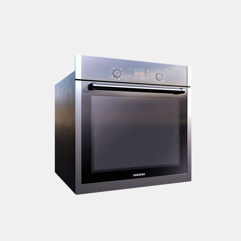 3D pbr oven