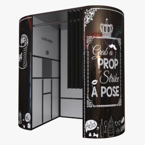 3D photo booth model