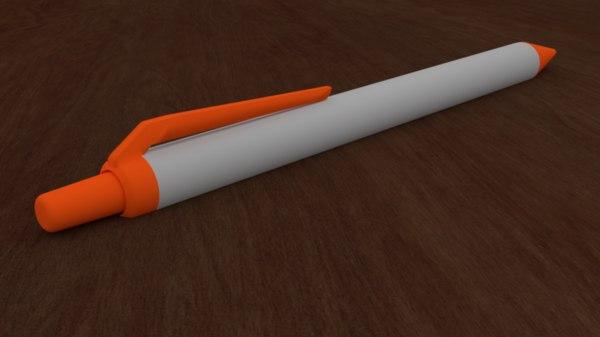 simple pen model