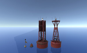 3D buoys