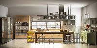 3D model realistic kitchen diesel social
