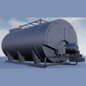 3D boiler industry