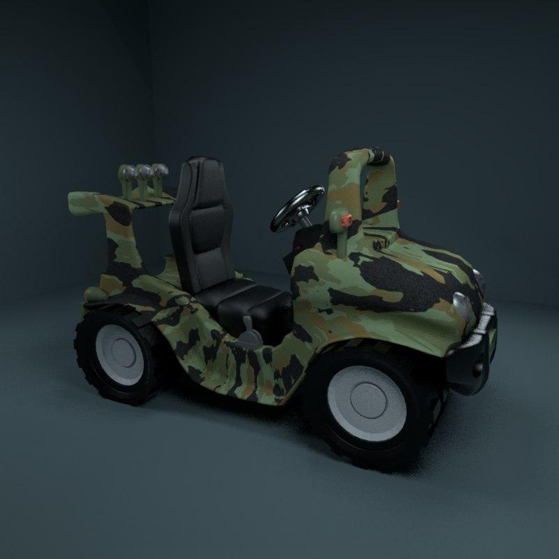 toy car 3D