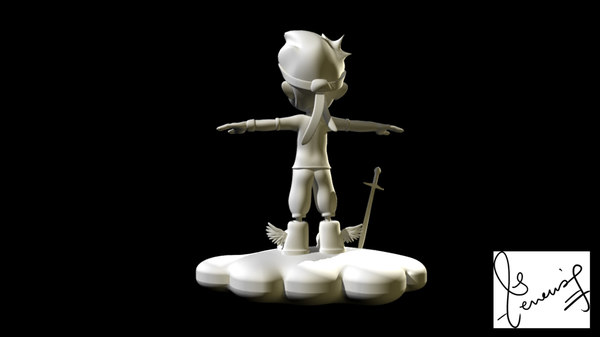 cloud runner character model