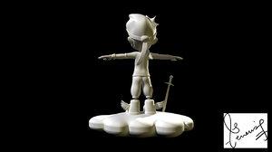 cloud runner character model